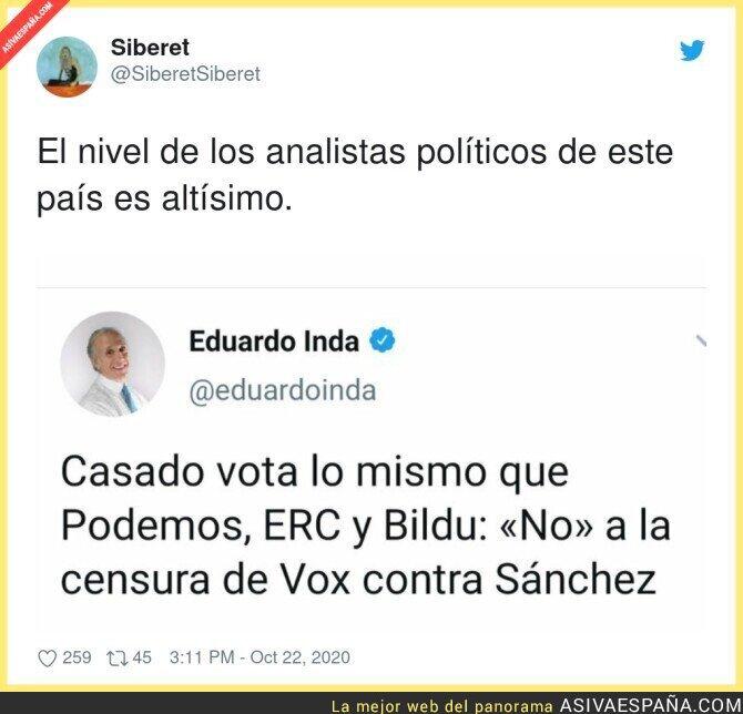 427996 - Así informa Eduardo Inda y la gente se lo come con patatas