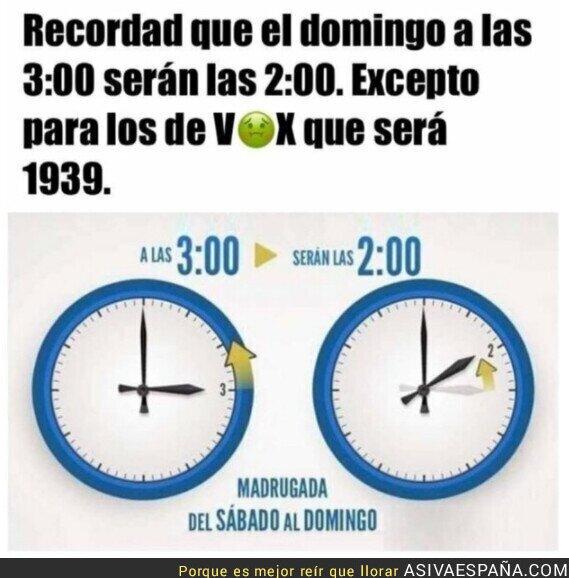 430384 - Importante recordatorio del retraso horario