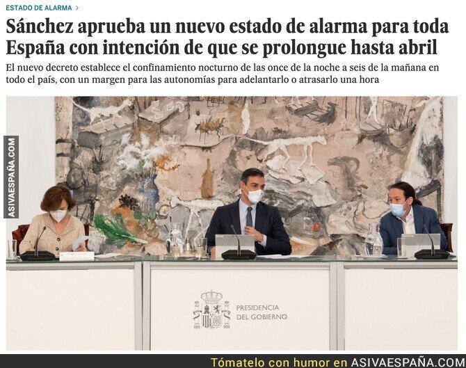 432912 - Nuevo estado de alarma en España hasta abril