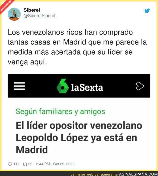 433133 - Ya están todos los venezolanos millonarios en España