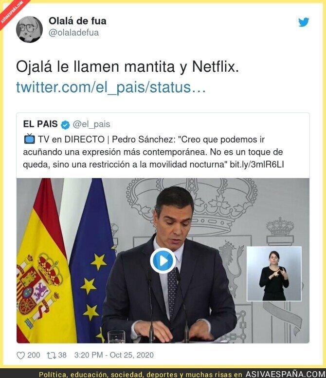 433154 - El nuevo nombre para el toque de queda en España