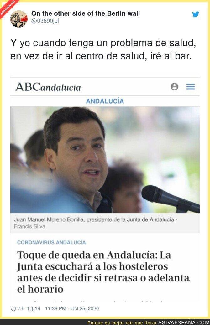434169 - Es delirante lo de Andalucía en manos del PP