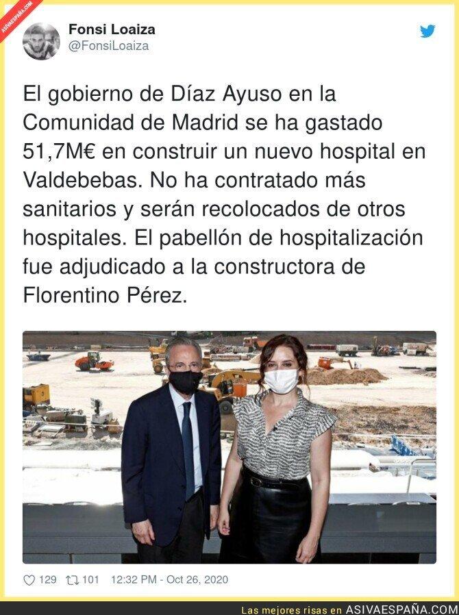 434859 - La nefasta gestión de Isabel Díaz Ayuso