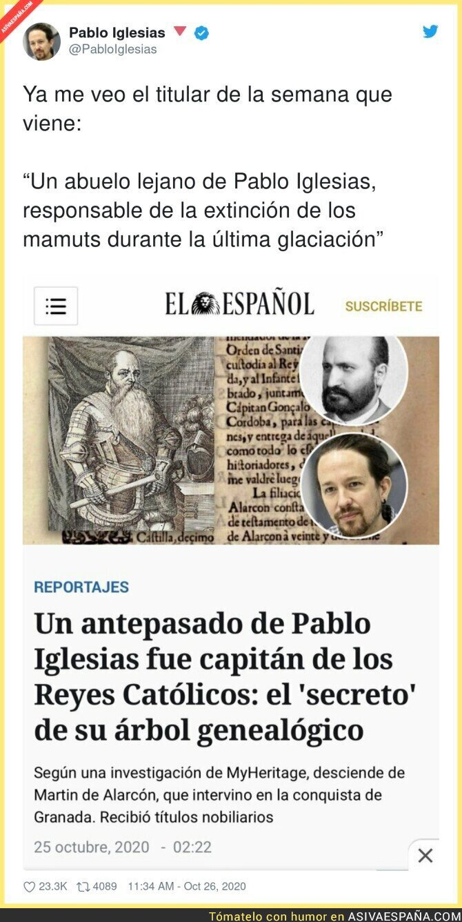 435028 - Cada vez tiran más lejos para intentar desacreditar a Pablo Iglesias