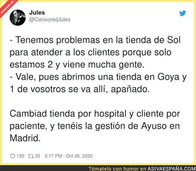 435251 - Así soluciona los problemas Madrid; creando más problemas