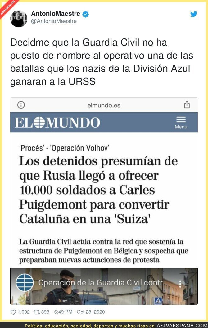 438353 - Los nazis como referente de la Guardia Civil