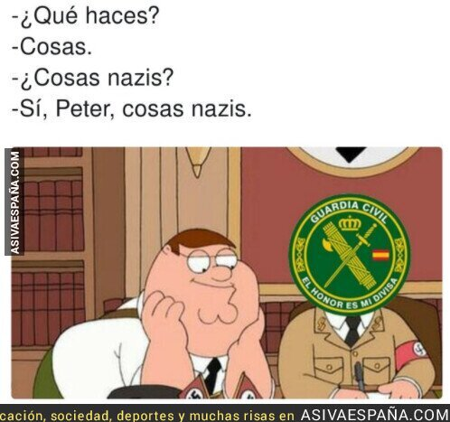 438481 - Mientras tanto la Guardia Civil...