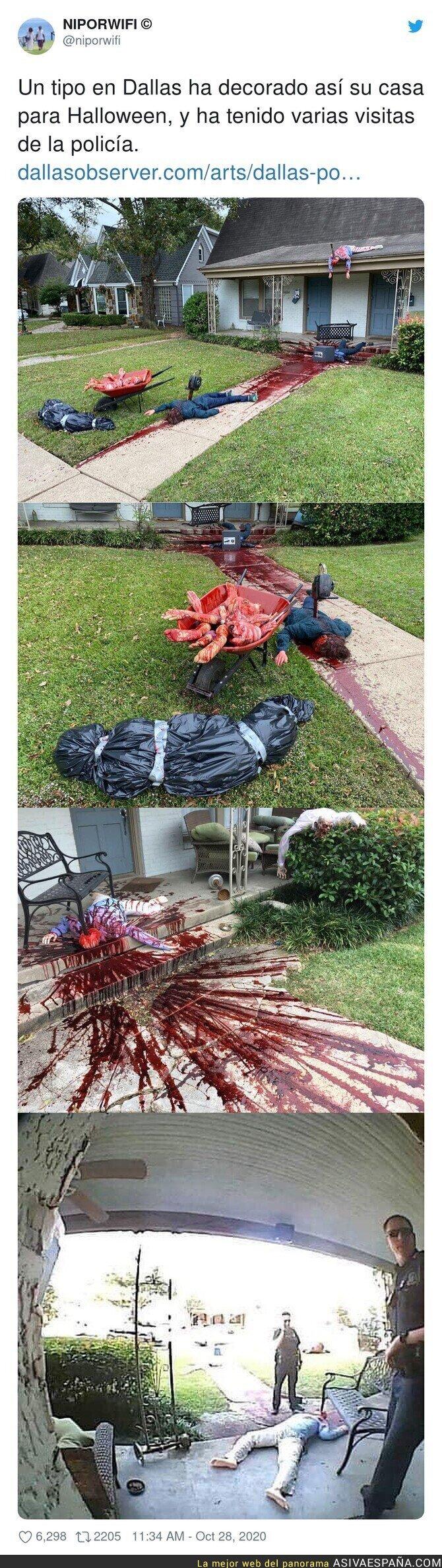 438507 - Decoraciones de Halloween no aptas para todo el mundo