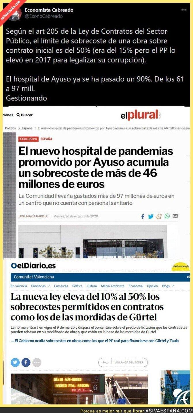 440865 - El gran escándalo de Isabel Díaz Ayuso con su hospital de pandemias