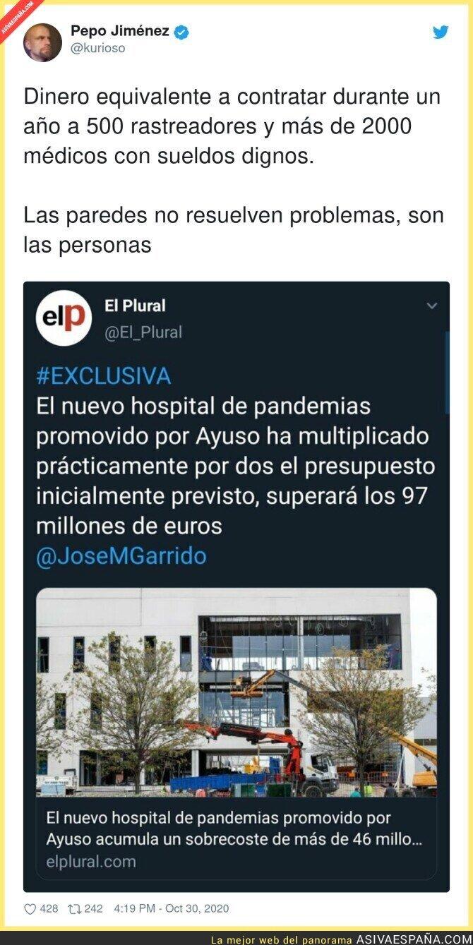 441418 - Isabel Díaz Ayuso todavía no se ha enterado de qué va esto de la pandemia
