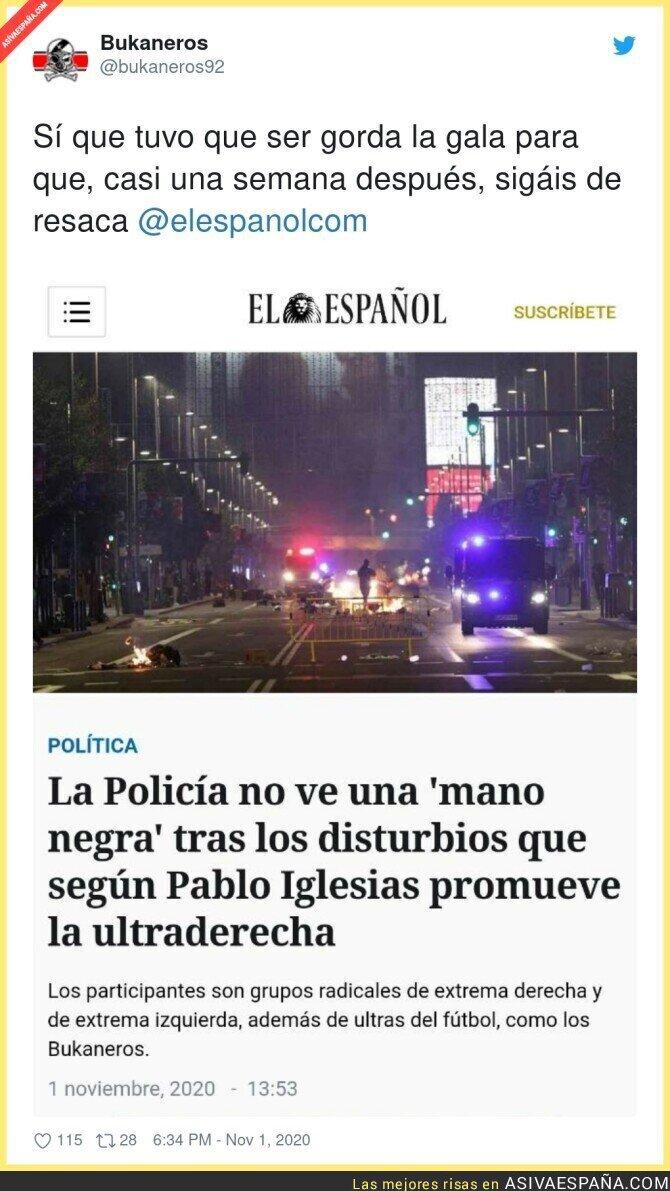 444986 - Ya no saben como meter a Pablo Iglesias para intentar culparle