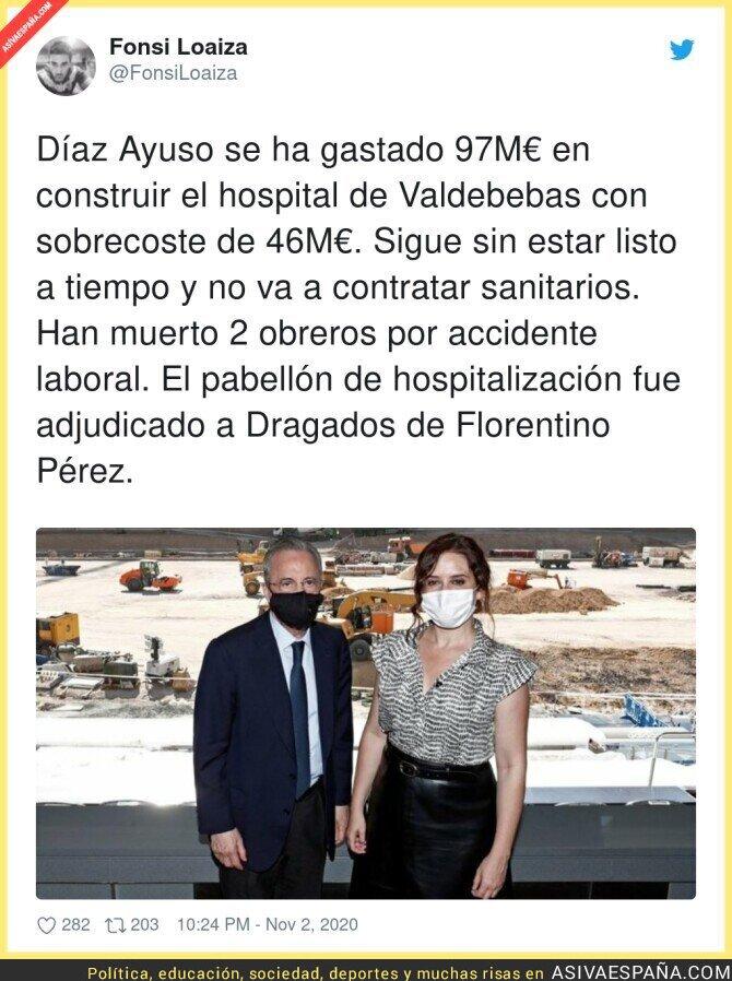 447113 - Las negligencias del hospital de Ayuso