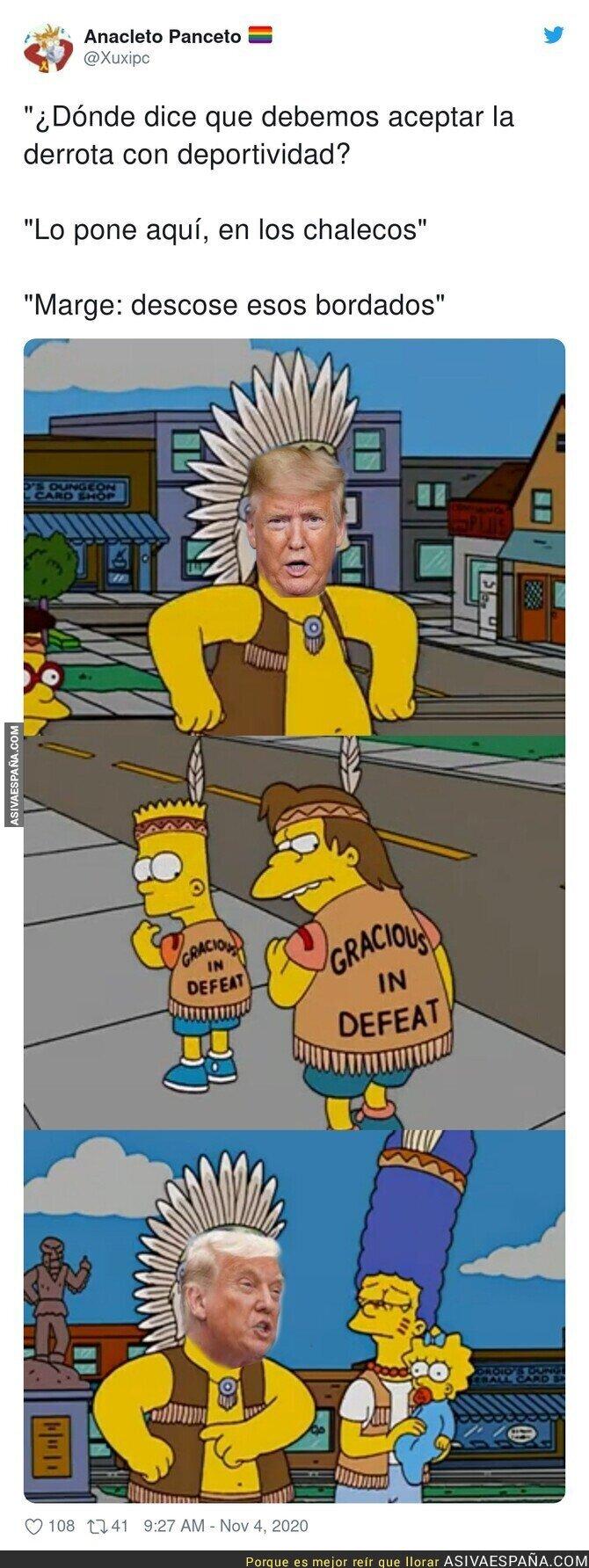 449183 - La palabra perder no está en el diccionario de Trump