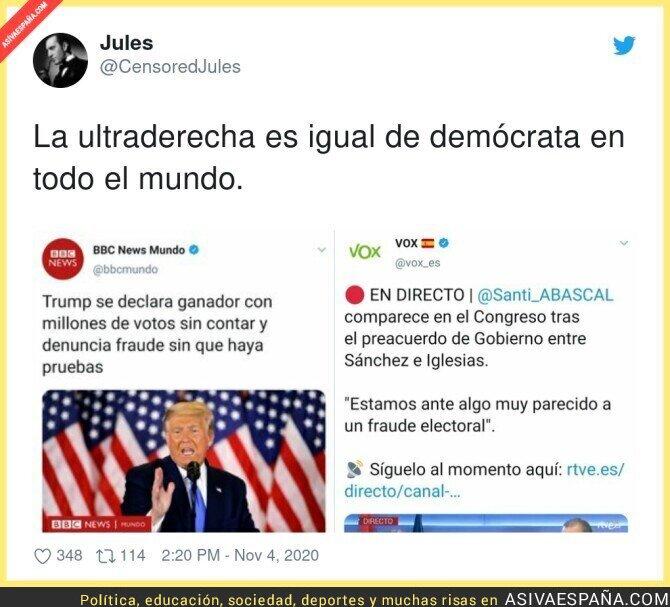 449518 - Los parecidos más que razonables entre Trump y Santiago Abascal