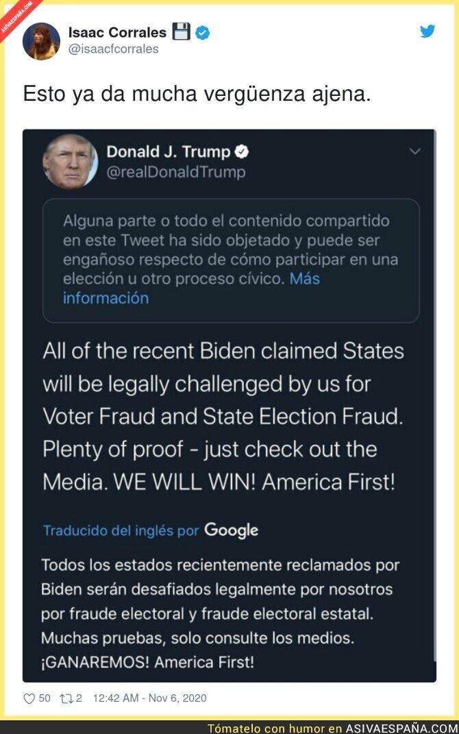 452501 - Trump da vergüencita ajena