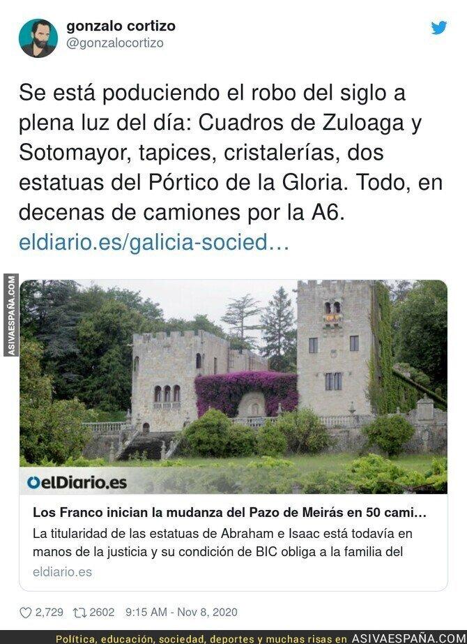 456470 - Robo al patrimonio español
