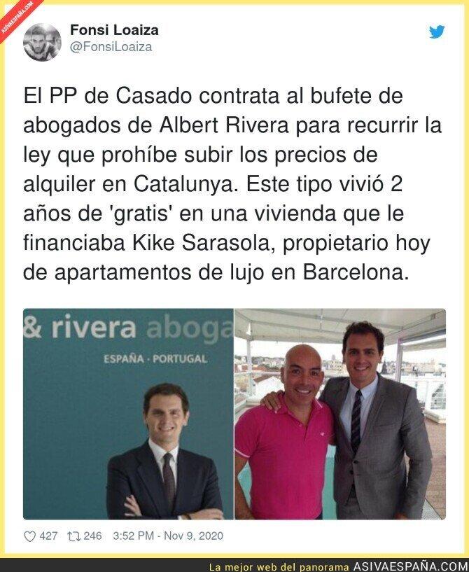 458220 - Albert Rivera salta al campo a defender al PP