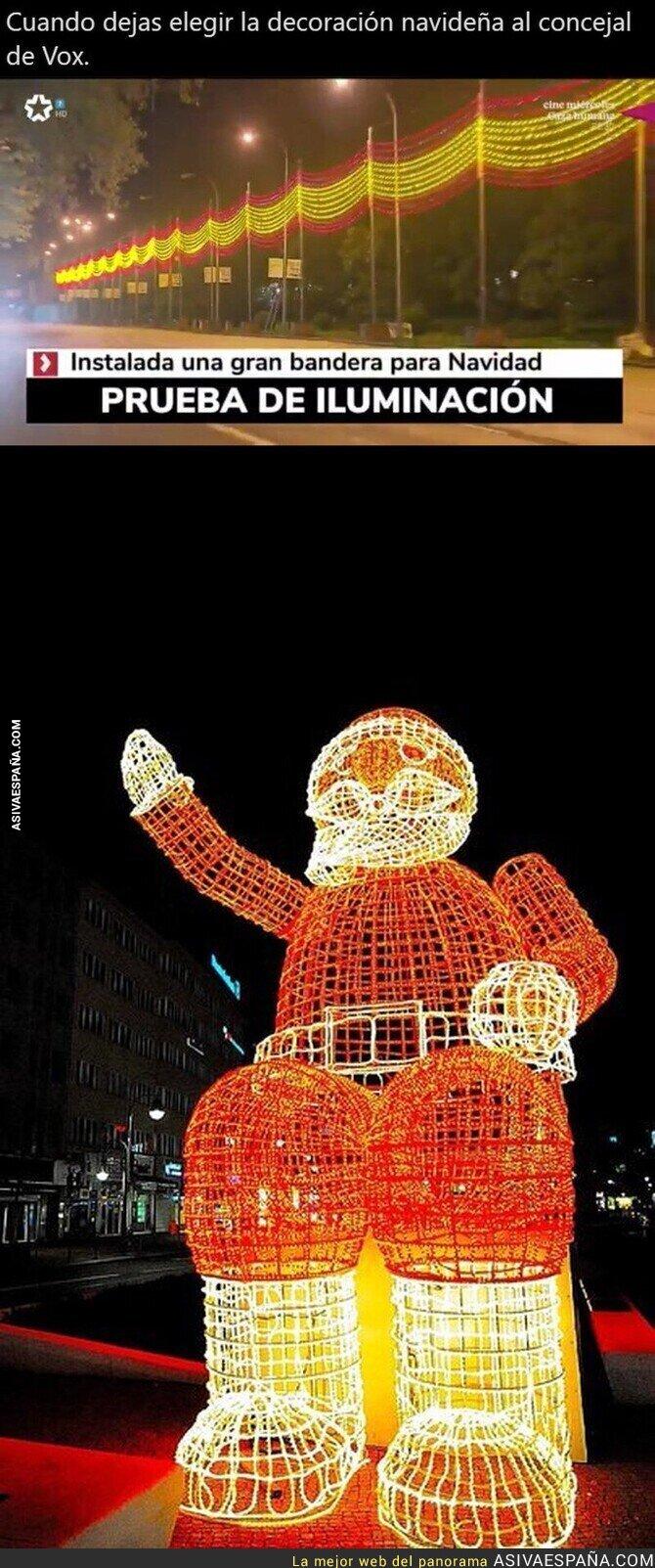 464522 - Arriba España y la Navidad