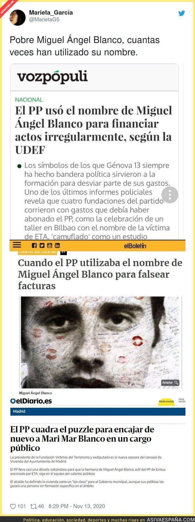 465273 - No dejaron descansar en paz a Miguel Ángel Blanco
