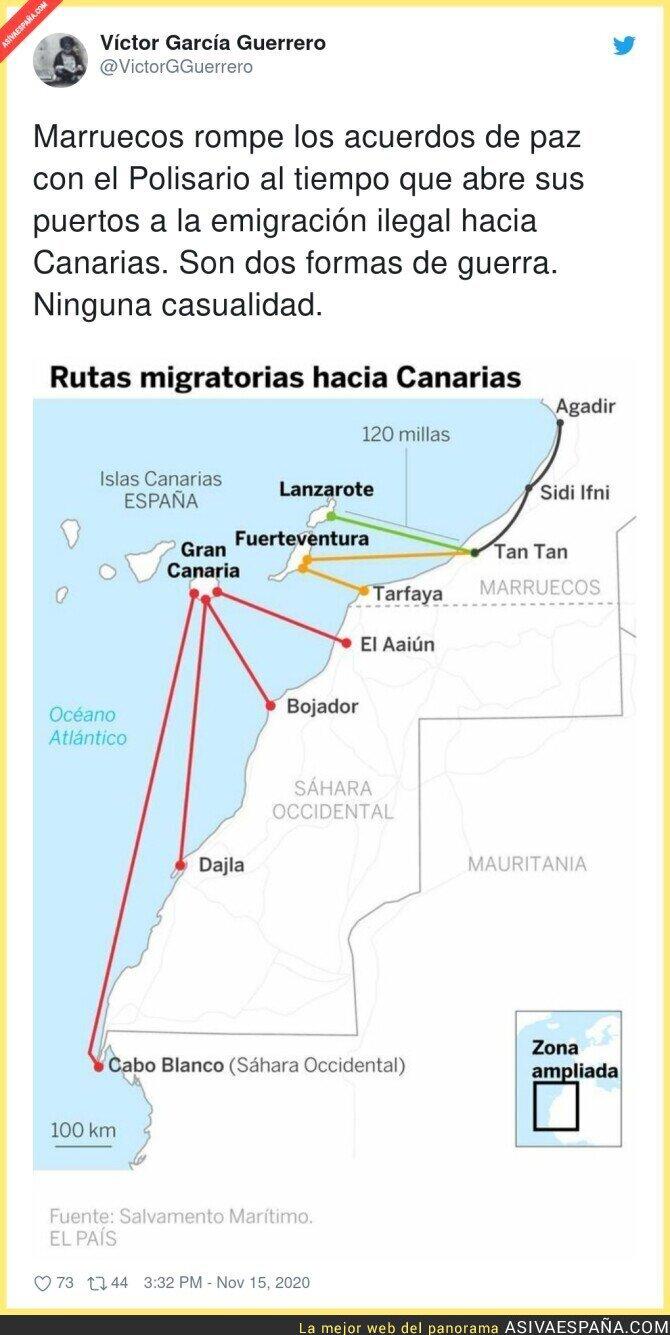 467471 - Situación preocupante con Marruecos