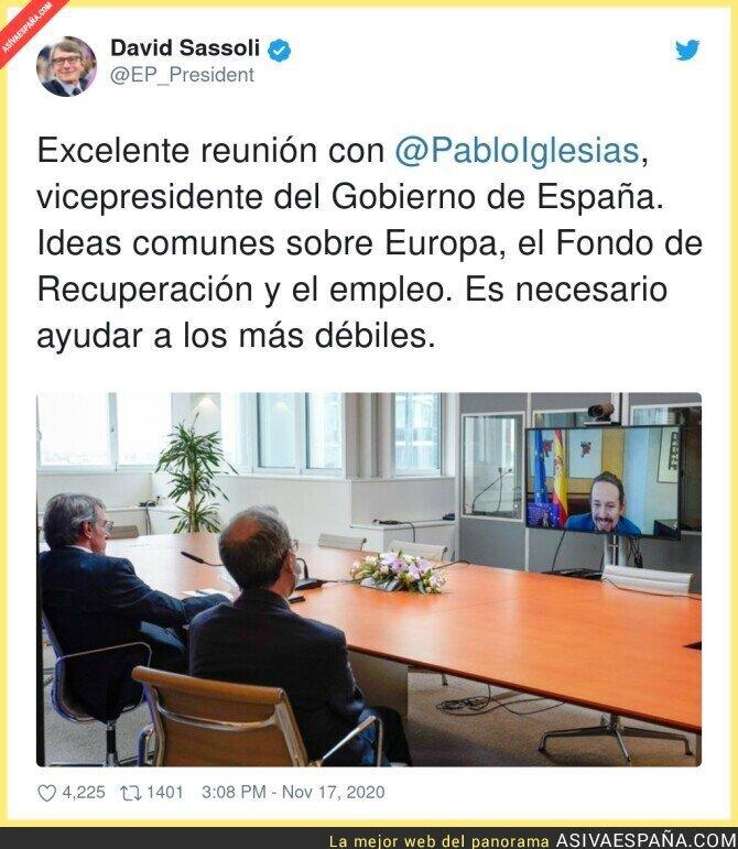 470612 - La gente en Europa está feliz con Pablo Iglesias