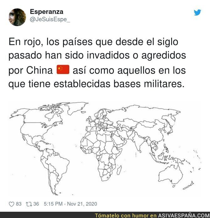 476022 - Tanto criminalizar a China pero están dando un ejemplo
