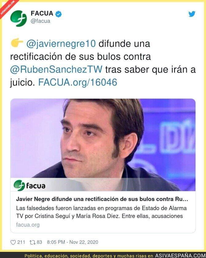 477289 - Javier Negre se ha asustado contra Rubén Sánchez