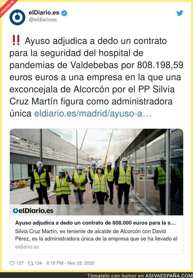 479233 - Sigue el escándalo del hospital pandémico