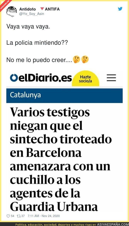480248 - Montaje policial en Barcelona