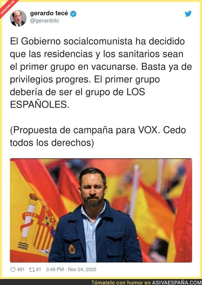 480390 - Primero los españoles de bien