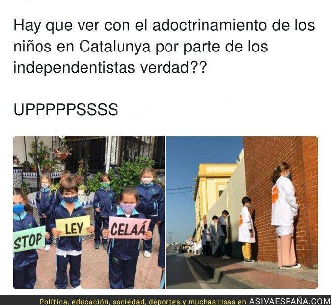 481803 - Adoctrinamiento en las escuelas españolas