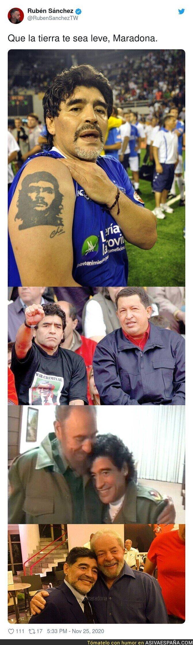 481910 - Maradona tenía claro su ideal político