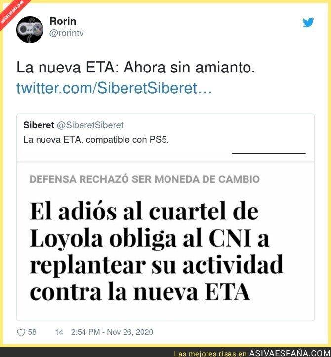 483167 - La nueva ETA zero zero