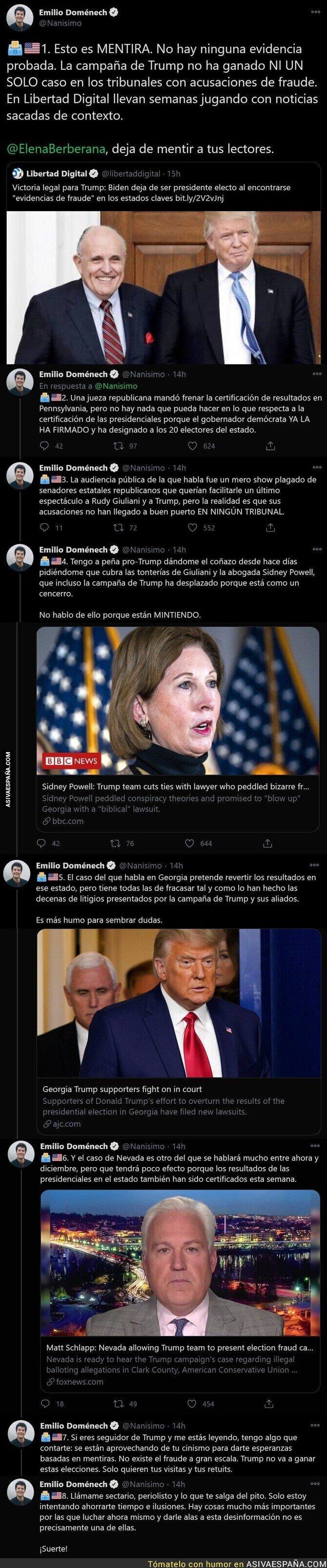 483536 - Emilio Doménech desmonta las mentiras de 'Libertad Digital' sobre Estados Unidos