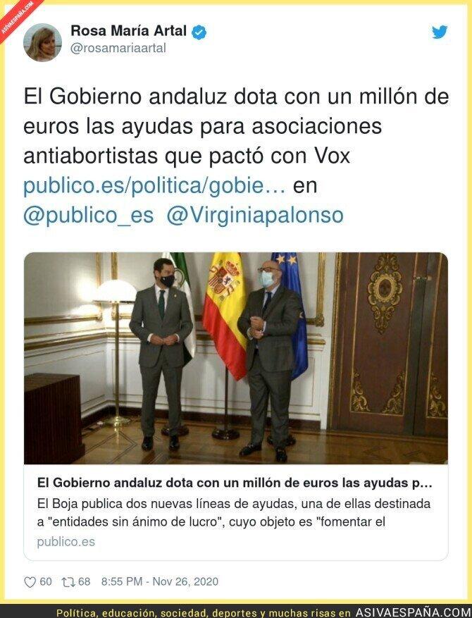 483765 - La Junta de las derechas en Andalucía haciendo de las suyas