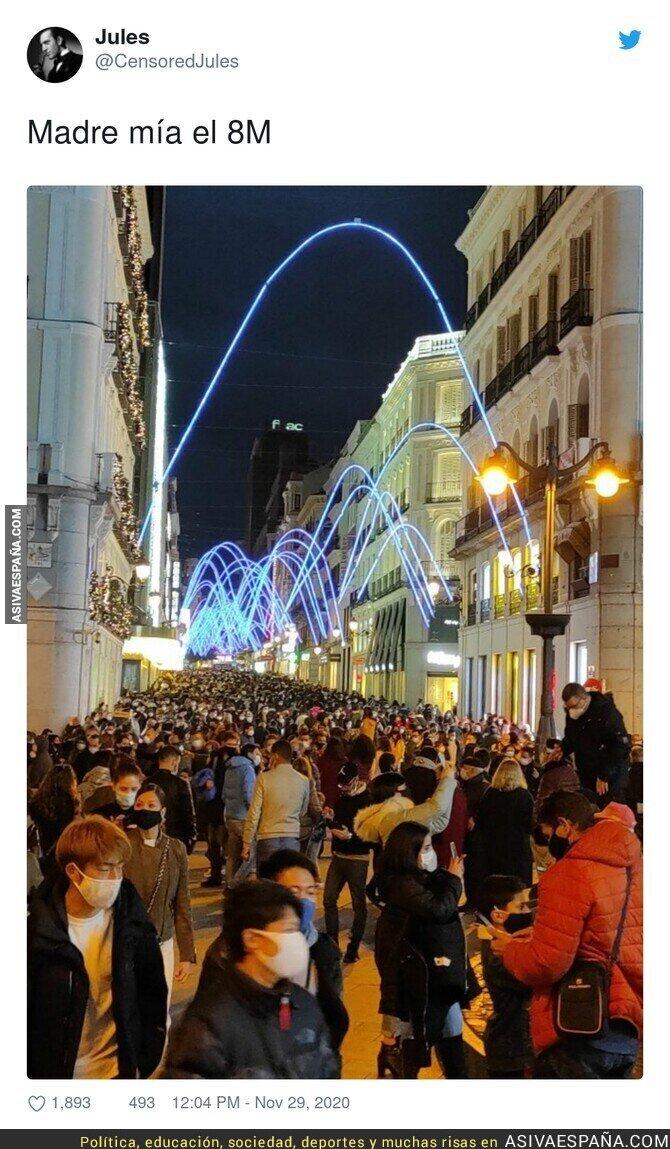 486480 - Así de irresponsable es la gente en plena pandemia en Madrid
