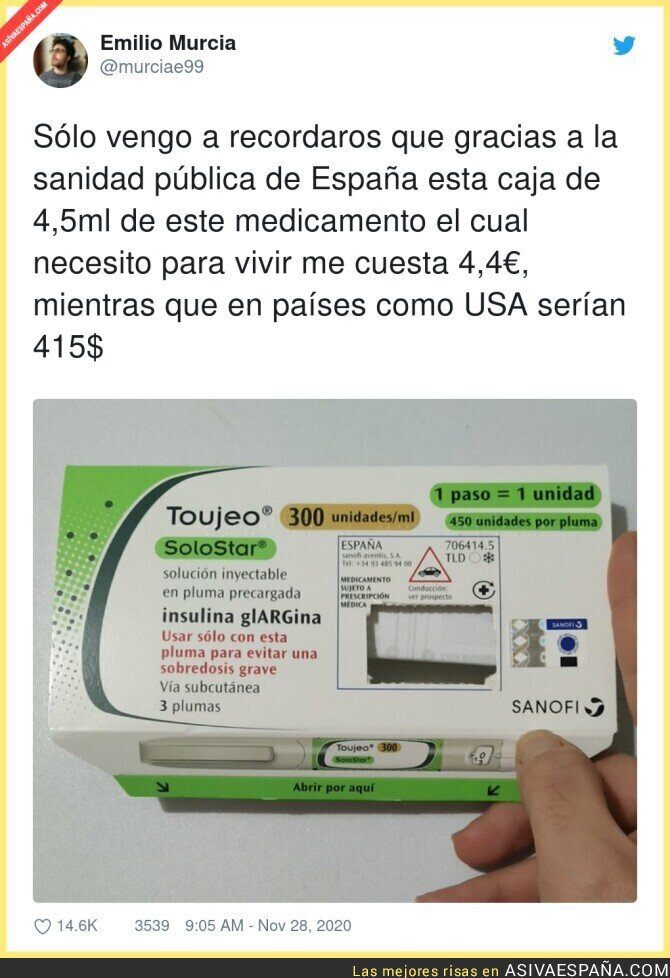 486725 - Hay que apreciar más la sanidad pública en España por cosas así