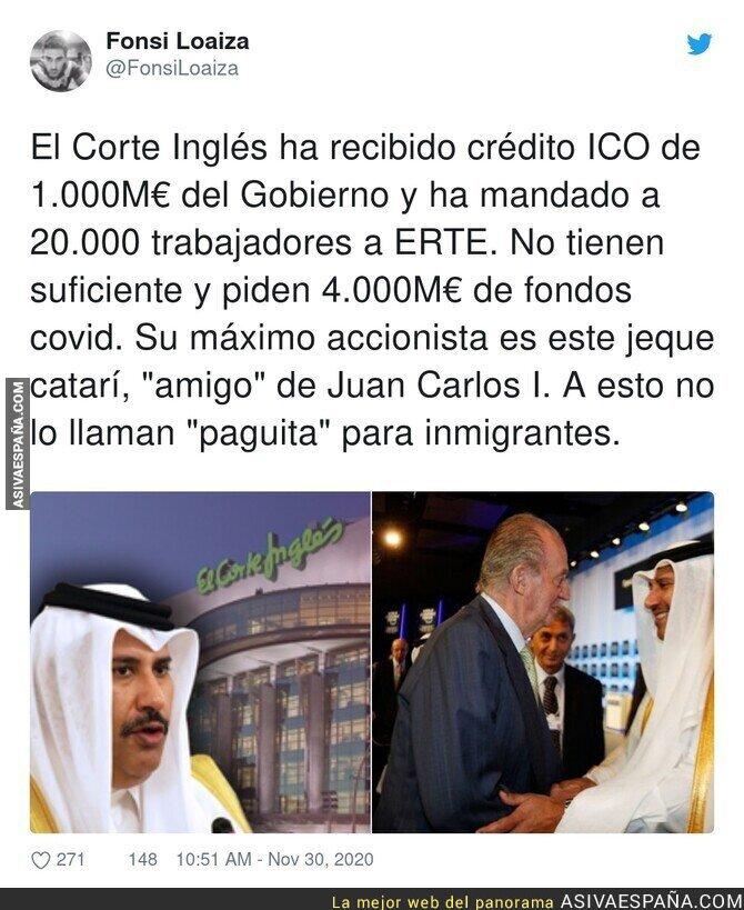 487493 - Las paguitas de El Corte Inglés