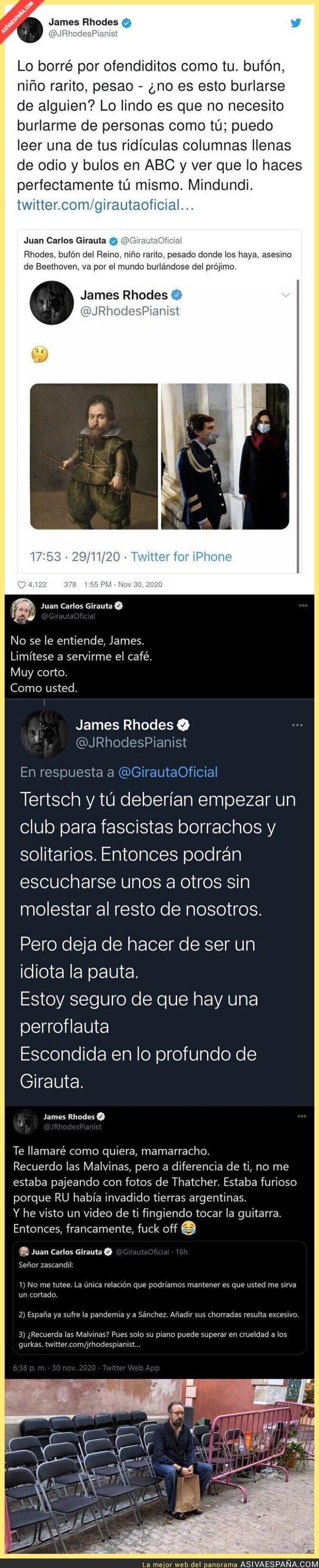 487804 - James Rhodes le pega un repasito a Juan Carlos Girauta que todos están aplaudiendo menos los fachitas