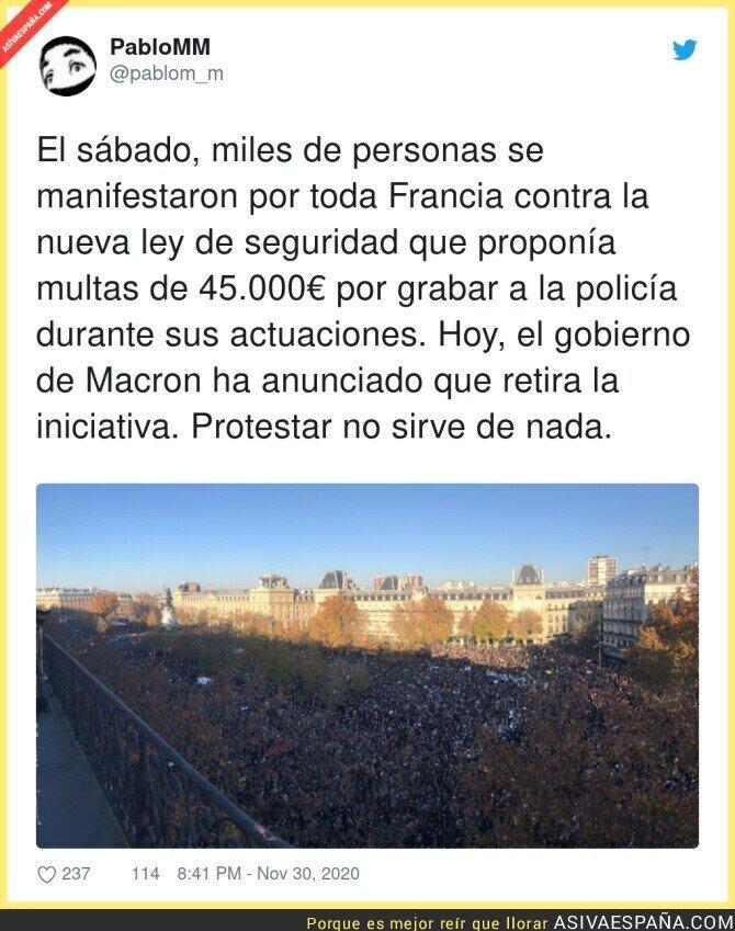 488174 - Y en España nadie movió un pelo por la Ley Mordaza