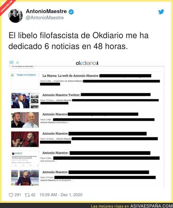488848 - Eduardo Inda está obsesionado con Antonio MAestre
