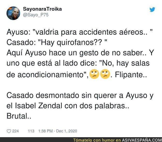 489169 - Pablo Casado el mejor periodista contra Isabel Díaz Ayuso