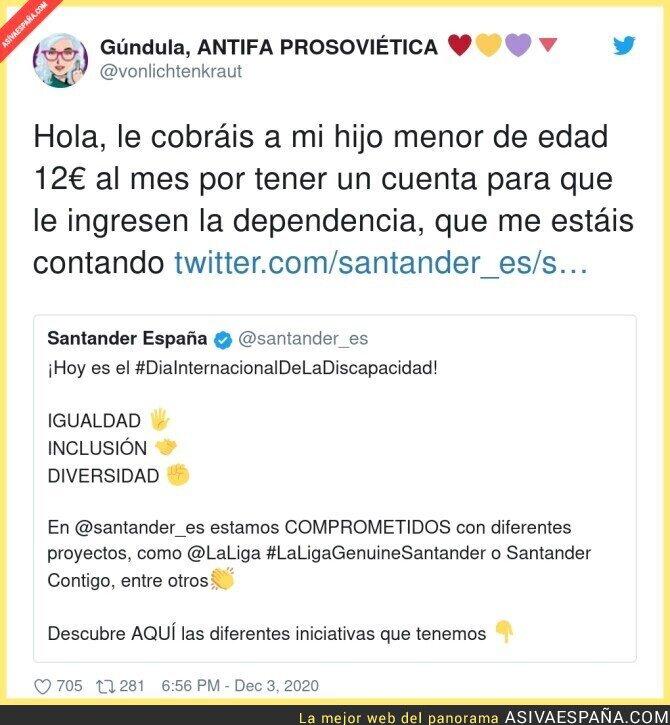 492532 - La poca vergüenza del Banco Santander