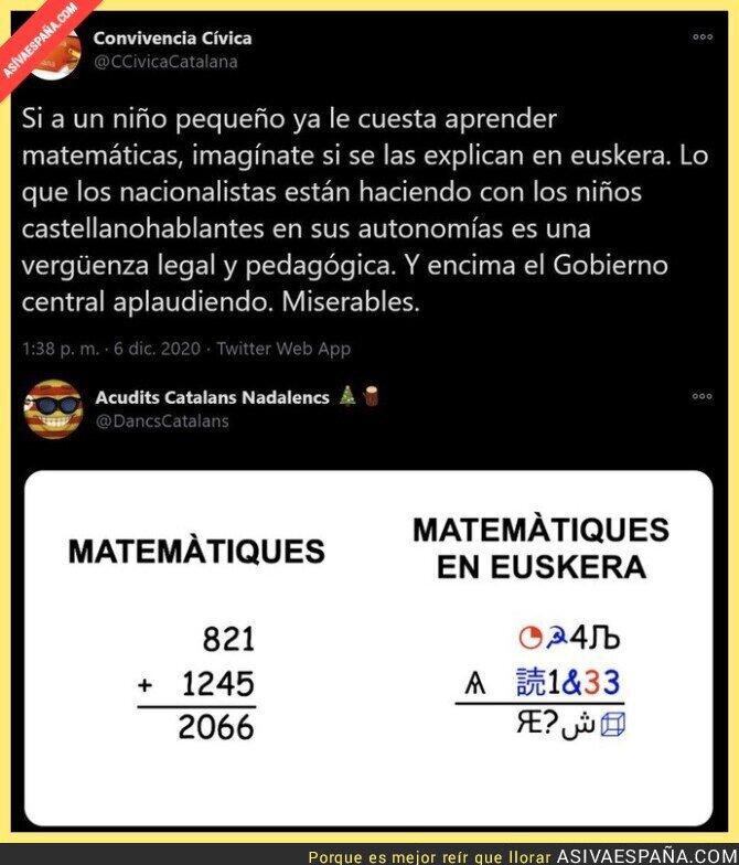496460 - La dificultad de las matemáticas en euskera