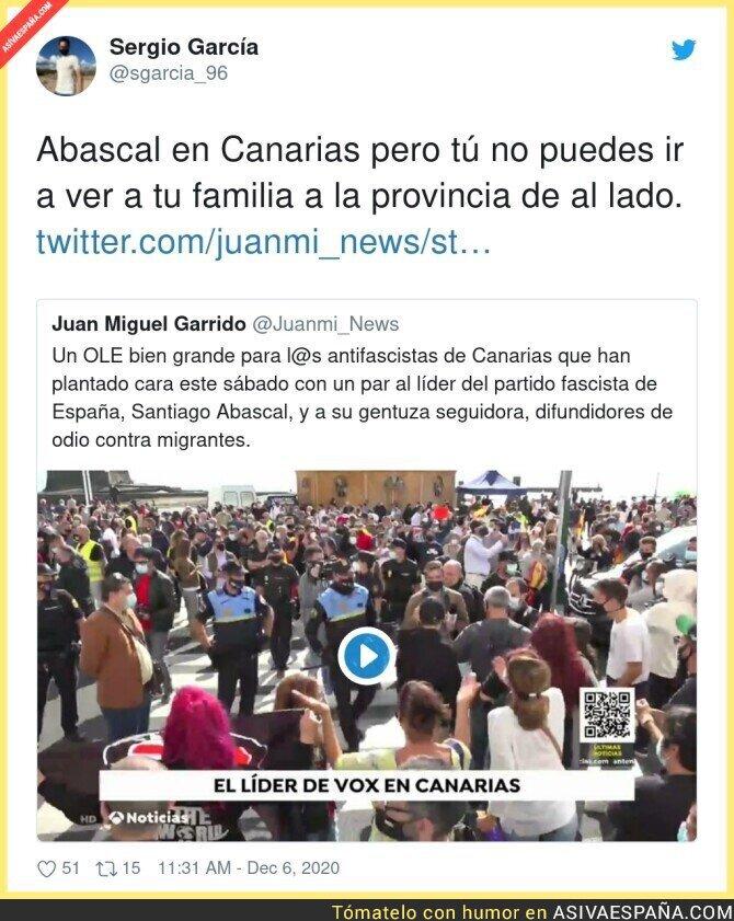 496982 - Santiago Abascal de tour en plena pandemia