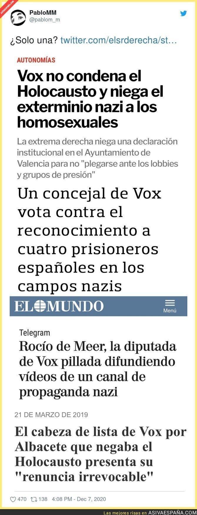 497180 - El nazismo está muy cercano a la gente de VOX