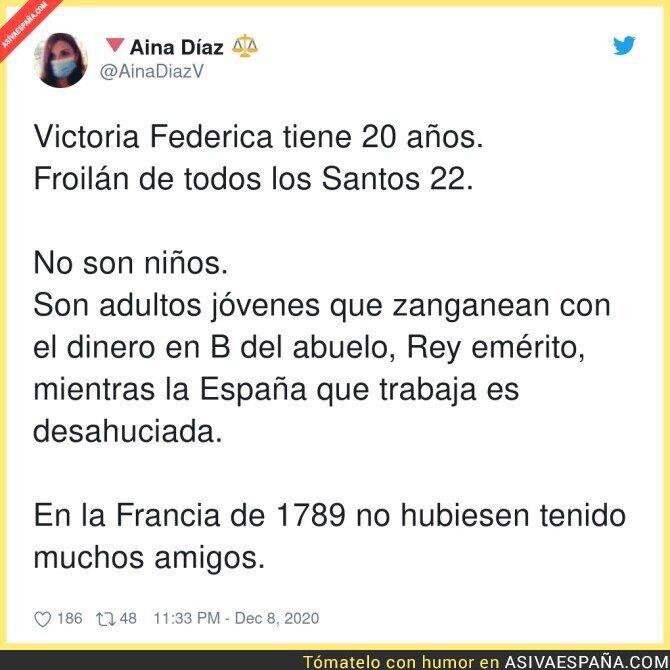 499191 - Victoria y Froilán saben bien lo que hacían con el dinero black