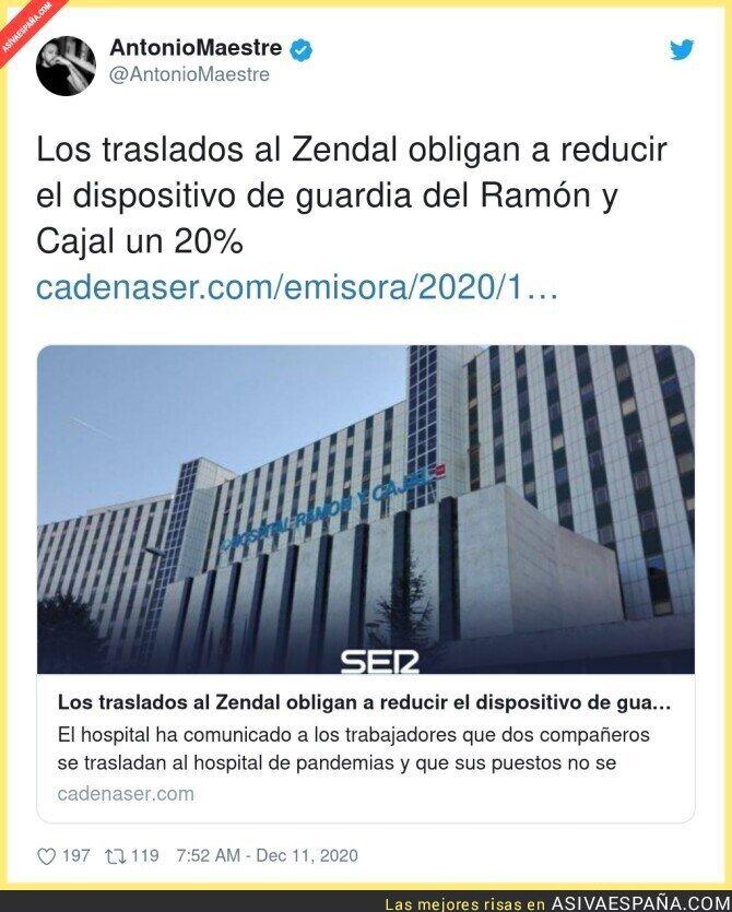 501885 - Empiezan las consecuencias del Hospital de Isabel Díaz Ayuso