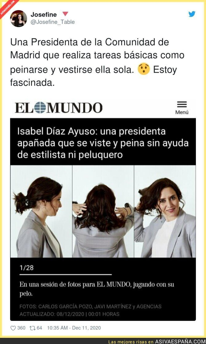 502186 - Maravillosa Isabel Díaz Ayuso