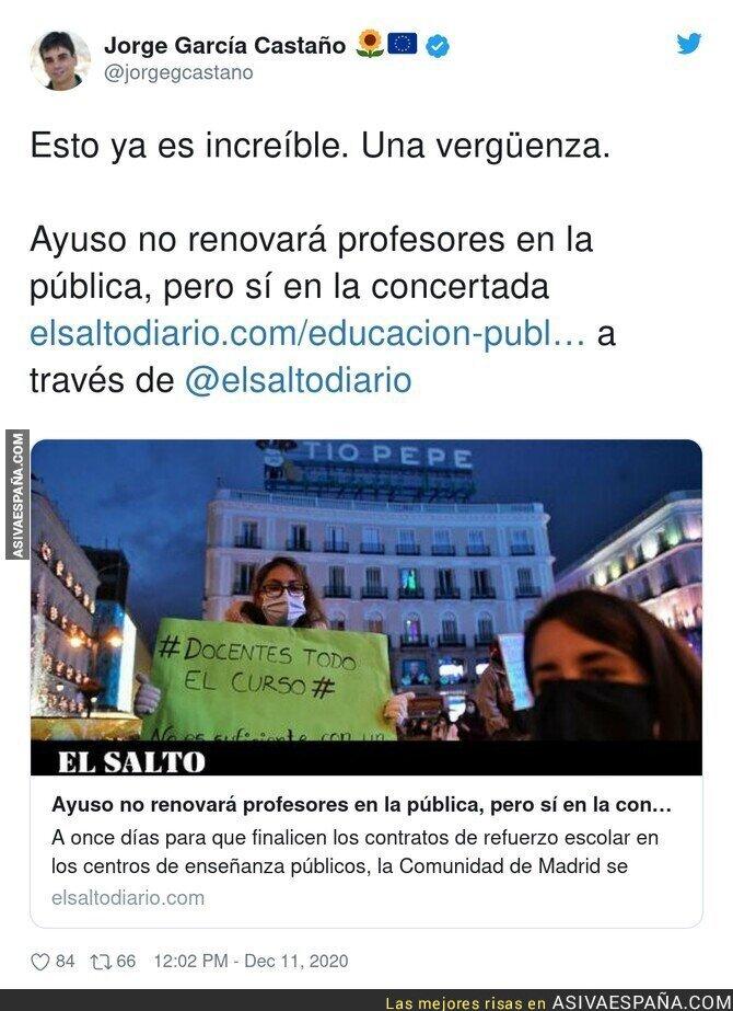 502543 - Prioridades del Gobierno de Isabel Díaz Ayuso